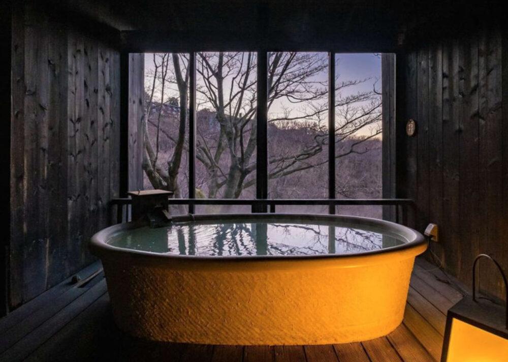 箱根でおこもりのプランを練るならココ!全室・客室露天風呂付きプラン!